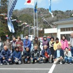 鯉のぼり掲揚2015